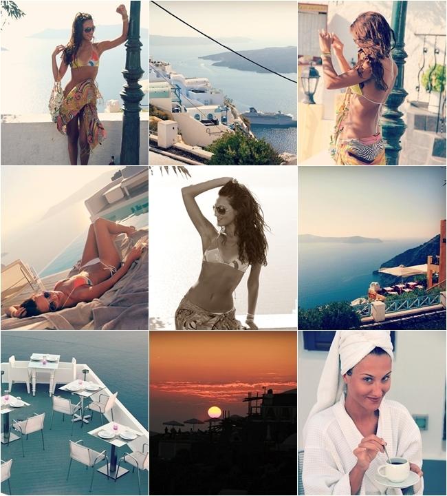 Santorini vacation 4 day travel photos