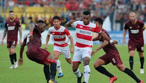 Prediksi Skor Madura United vs PSM 4 April 2020