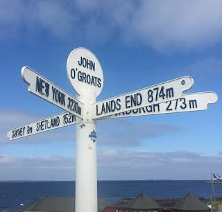 Signpost At John O' Groats