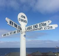 Distance Marker at John o' Groats
