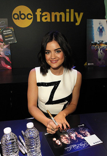 PLL actress Lucy Hale