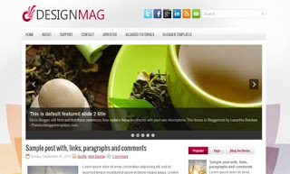 DesignMag Blogger Template