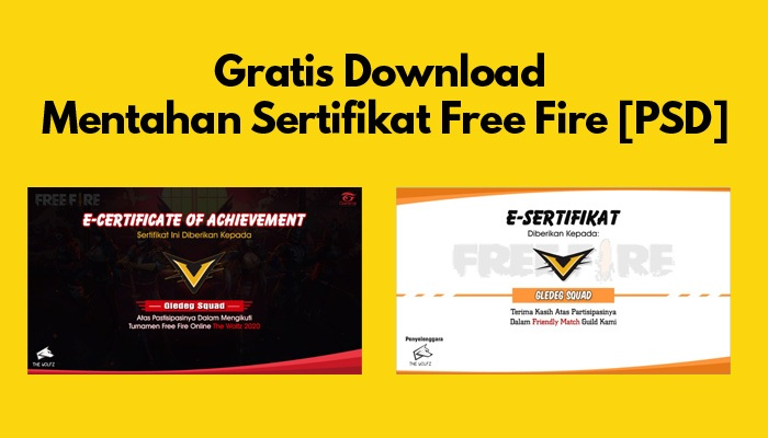 download polosan sertifikat free fire