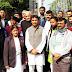 जेएनयू हिंसा के विरोध में कांग्रेसियों ने किया प्रदर्शन