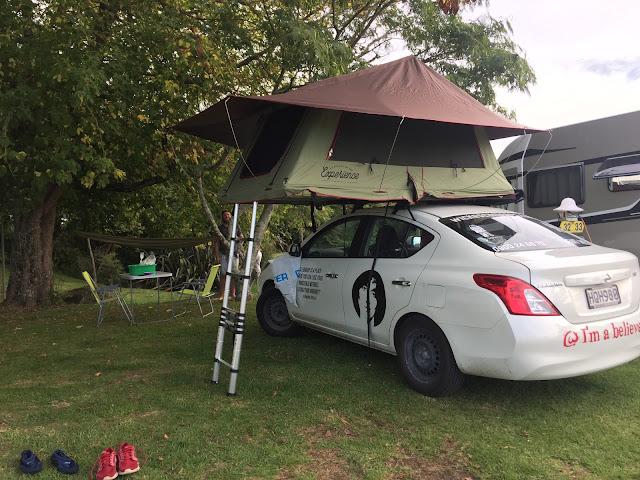 Campsite Rotoura Neuseeland