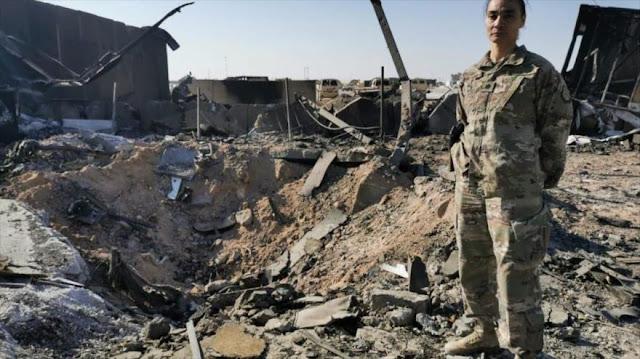 CNN muestra daños infligidos por misiles iraníes en base de EEUU