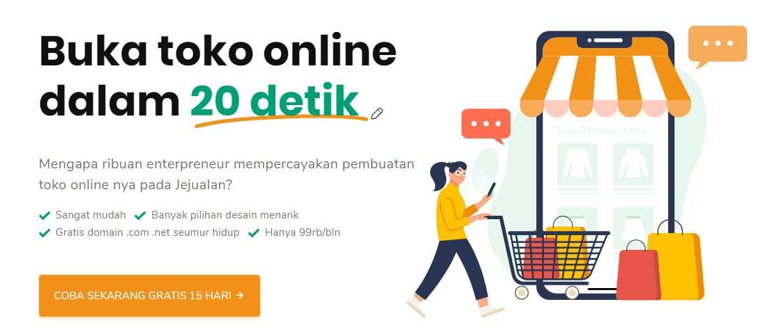 Cara Membuat Website Toko Online Shop Sendiri Untuk Jualan Harga Terjangkau