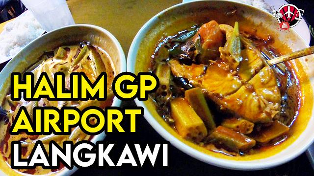 Gulai Panas Halim GP Airport Langkawi