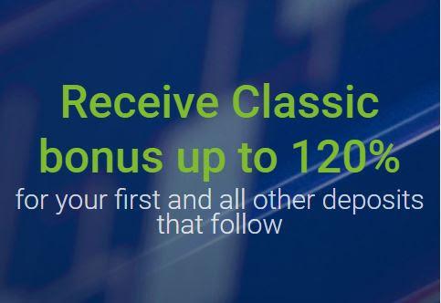 RoboForex 120% Deposit Bonus - Classic Bonus