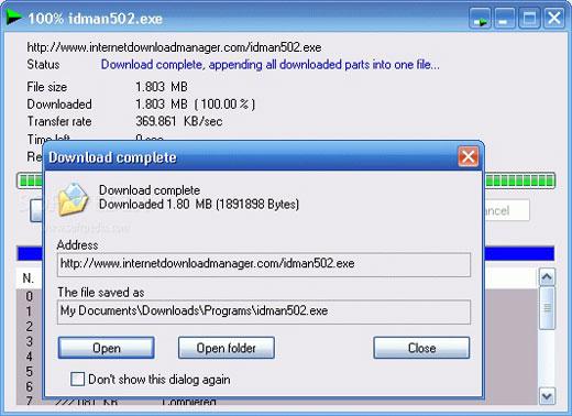 Internet Download Manager 6.18 Free