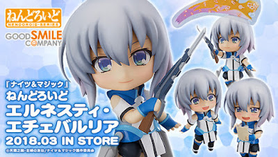 Ernesti Echevalier da Knight's & Magic ver. Nendoroid