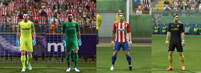 PES 2013 Atletico Madrid kits 2016-2017 by Strex-Kitmaker