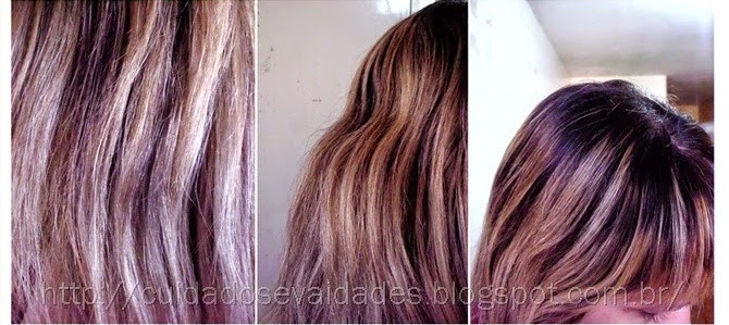 Tonalizando luzes ou mechas antigas com Color Perfect 12.89