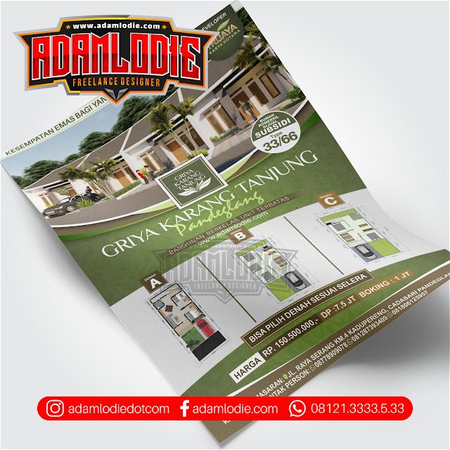 Jasa Desain Brosur Perumahan 0811 2888 839 Adam Lodie Enterprise Jasa Desain Grafis Dan Desain Branding