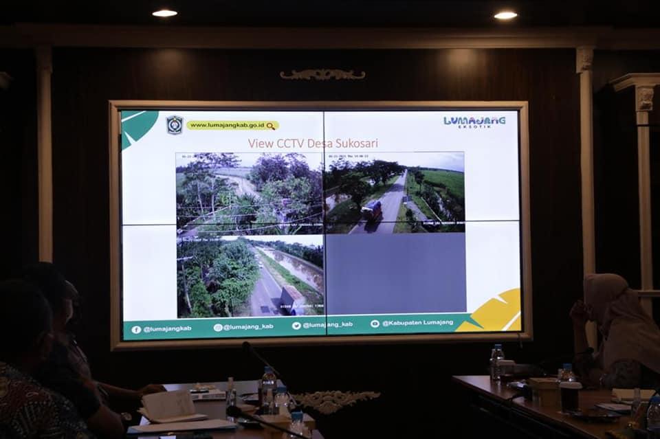 Pengadaan CCTV di Lumajang akan Ditopang APBDes