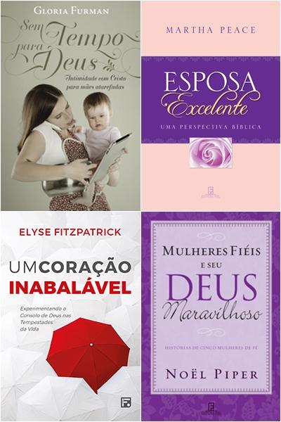 livros para mulheres da Editora Fiel