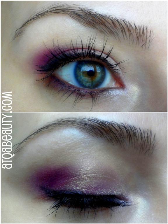 Makijaż :: Trochę koloru [EOTD]