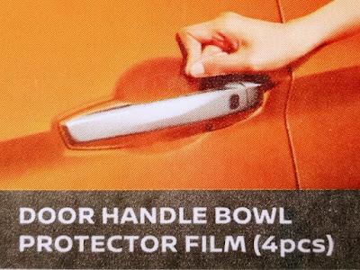 Gambar Door handle bowl protection film (4 picis) Nisaan Livina
