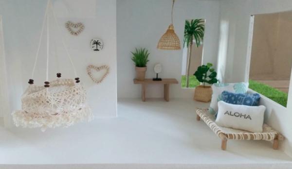 maison de poupées moderne - deco boheme