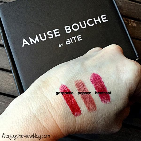 Bite Beauty's Amuse Bouche lipsticks