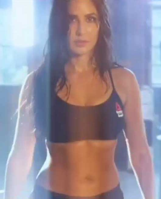 Katrina Kaif in sexy sports bikini