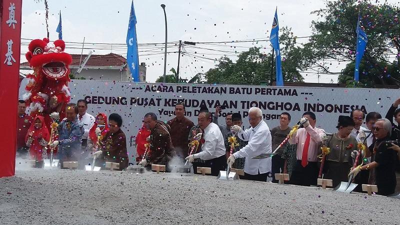 YDSP Membangun Gedung Pusat Kebudayaan Tionghoa Indonesa.