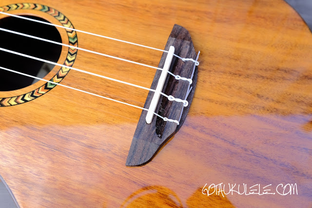 Freebird KT1-T Tenor Ukulele bridge