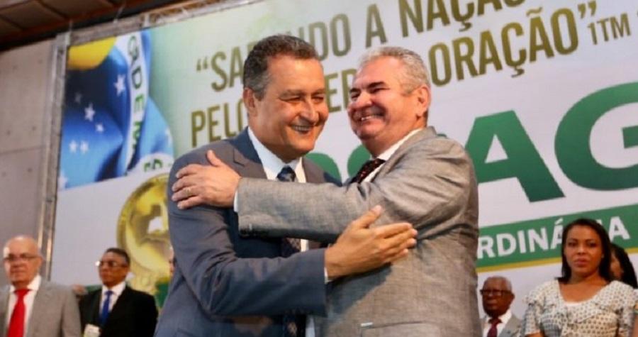 Angelo Coronel deseja o governador Rui Costa no PSD - Portal Spy