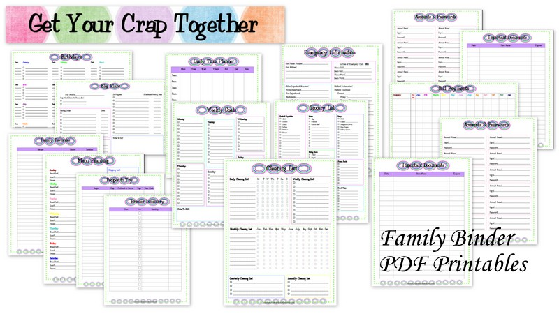 Our Family Binder: In Review - GYCT Designs