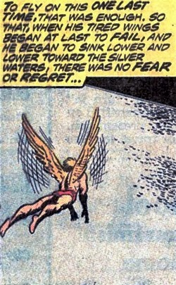 He That Hath Wings, Worlds Unknown #1, Gil Kane art