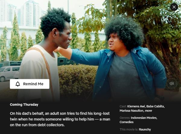 Papua In Love The Movie - 26 November 2020