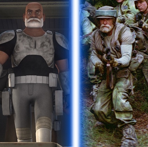 Resultat d'imatges de captain rex return of the jedi