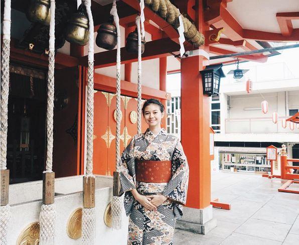 Yuki Kato tahun 2016 ke Jepang