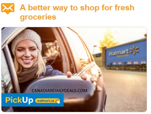 Bzzagent Walmart PickUp $20 Grocery Credit Campaign