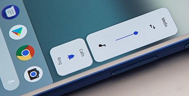 Cihazınızda bulunan ses, kapatma gibi düğmelere bastıktan sonra ekranda görünen işlem butonları Android 11 ile beraber değişiyor. Butonların hem boyutları hem de sunduğu işlemler değişecek, böylece kullanıcıların yanlışlıkla yaptıkları işlemlerin önüne geçilecek.