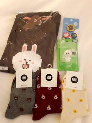 Line Friends Store Harajuku Merchandises