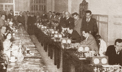 Match telefónico Comtal-Madrid, mayo de 1935