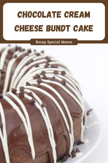 CHOCOLATE CREAM CHEESE BUNDT CAKE