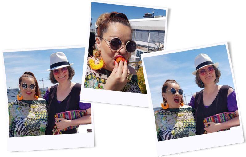 Sunny und Beatriz beim PR Event von Bodywear Consulting