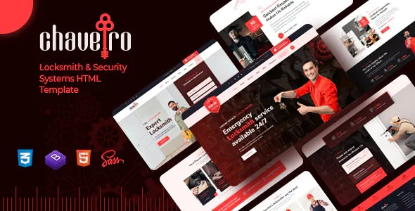 Best Locksmith Business HTML5 Template