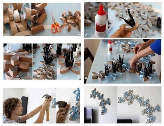 Easy crafts to do to decorate the house