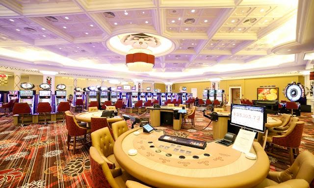 Casino in Ho Tram Trip Hotel