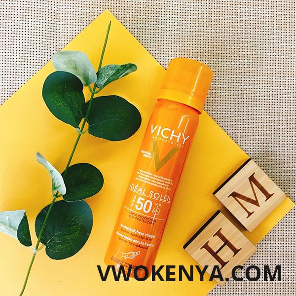Xịt khoáng chống nắng Vichy Ideal Soleil Face Mist (SPF 50 PA+++)