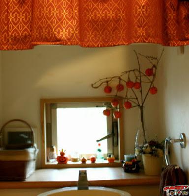 ハロウィン飾りトイレ