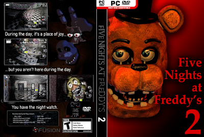 Jogo Five Nights At Freddy's 2 PC DVD Capa