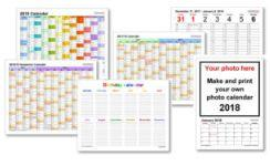 Free Calendars and Planners Download and Print