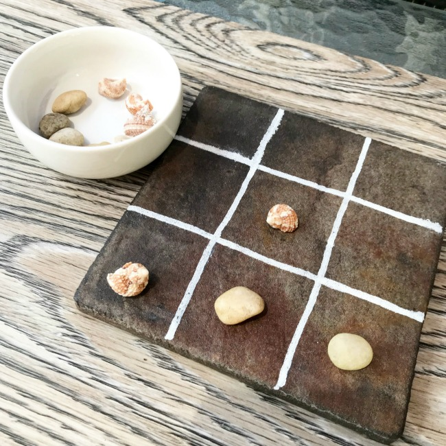 Summer DIY Tic Tac Toe Game