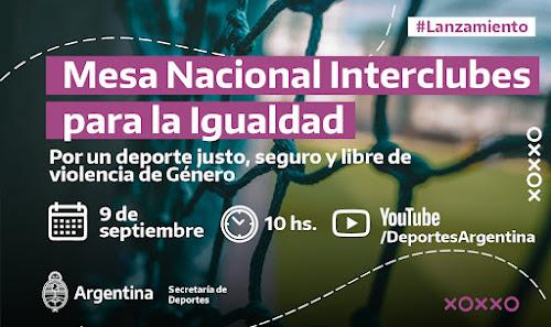 Mesa Nacional Interclubes para la Igualdad