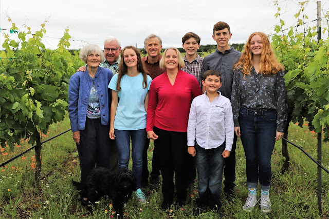 Kuhlken family of Pedernales Cellars