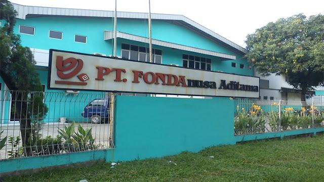 Lowongan Kerja Jobs : Operator Produksi Lulusan Min SLTP Sederajat PT Fonda Nusa Aditama